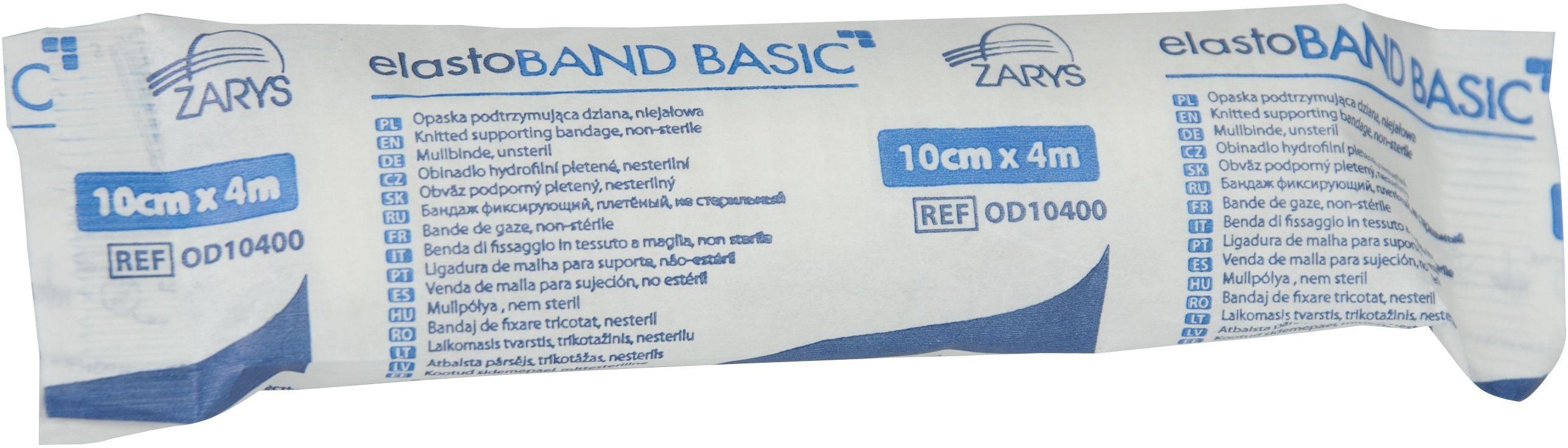 Bandaż dziany elastoBAND BASIC