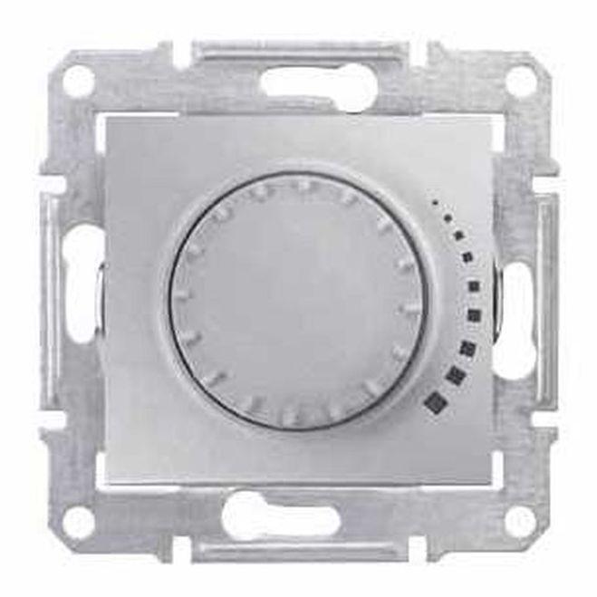 Sedna Ściemniacz obrotowy 60-325VA aluminium SDN2200460