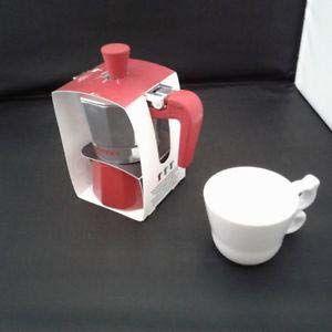 Giannini RO6482 Nina 3 filiżanki ekspres do kawy-czerwone, nietoksyczne