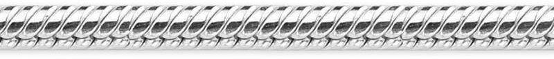 Staviori łańcuszek linka 45cm. srebro rodowane 0,925. grubość 1,4 mm. łańcuszek wykonany z najwyższej próby srebra rodowanego 0,925. splot gęsta jodełka, o przekroju okrągłym, bardzo giętki. powierzchnia szlifowana