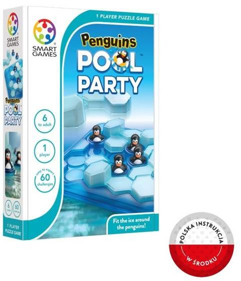 Smart Games Penguins Pool Party (ENG) IUVI Games - IUVI Games