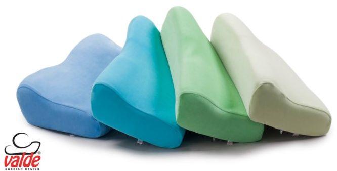 Poszewka na poduszkę ortopedyczną B1- B8 Valde : kolor - niebieski, wersja - welur