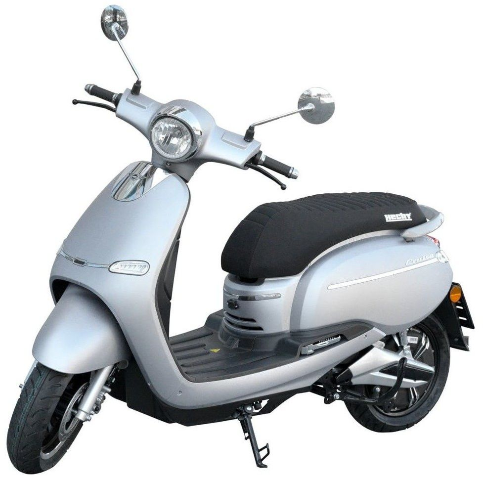 HECHT CITIS SILVER SKUTER ELEKTRYCZNY AKUMULATOROWY E-SKUTER MOTOR MOTOREK MOTOCYKL - OFICJALNY DYSTRYBUTOR - AUTORYZOWANY DEALER HECHT