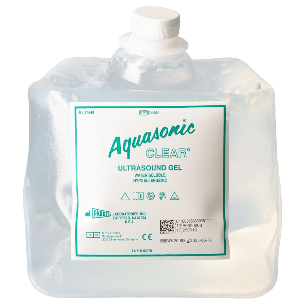 Żel do USG AQUASONIC CLEAR 5 L