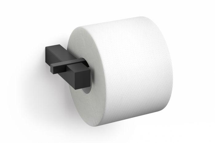Zack CARVO Uchwyt Ścienny na Papier Toaletowy - Czarny