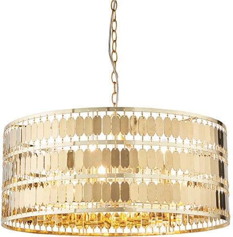 Lampa wisząca Eldora 90299 Endon złota oprawa w stylu nowoczesnym