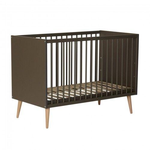 Łóżeczko niemowlęce Quax Cocoon Moss 120x60