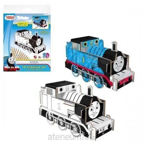 Zestaw kreatywny 3D z kredkami Thomas&Friends STARPAK 321793