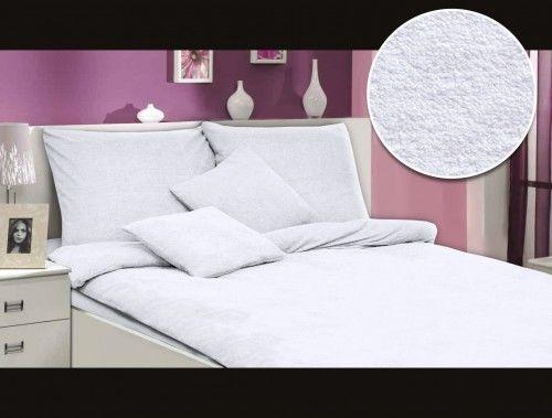 Darymex Pościel frotte biały 001 160x200