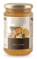 Marmolada z pomarańczy z imbirem BIO 360g Agrisicilia