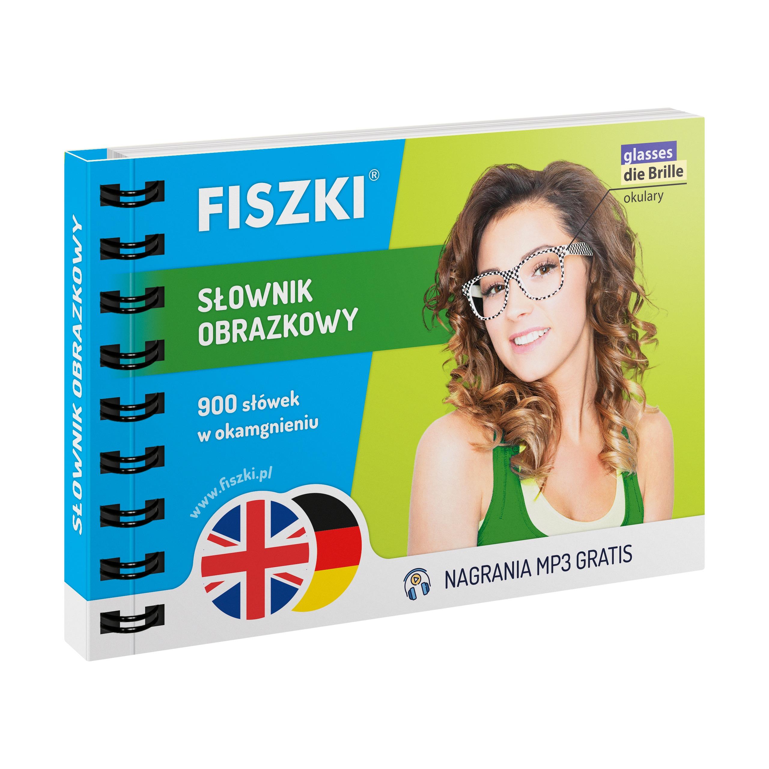 FISZKI - angielski + niemiecki - Słownik obrazkowy