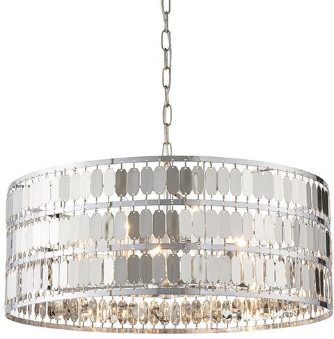 Lampa wisząca Eldora 81965 Endon chromowana oprawa w stylu nowoczesnym