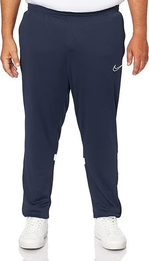 Nike Męskie spodnie do biegania Dri-fit Academy niebieski Obsydian/biały/biały/biały M