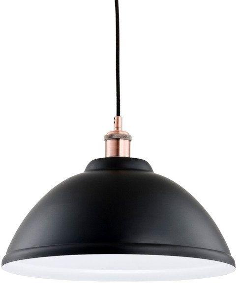 Lampa sufitowa IDIFOR I czarny śr. 37cm
