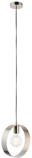 Lampa wisząca Hoop 90454 Endon niklowana oprawa w stylu nowoczesnym