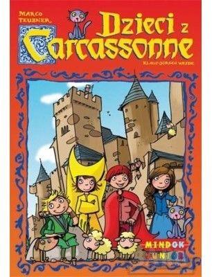Gra Carcassonne Junior (edycja Polska)
