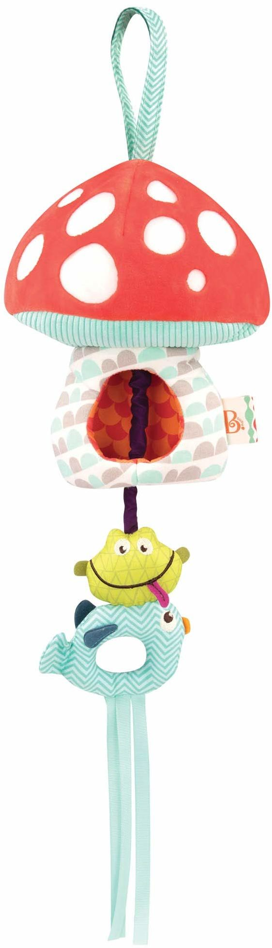 B. toys by Battat BX1564Z B. Toadstool Music Box with Lights