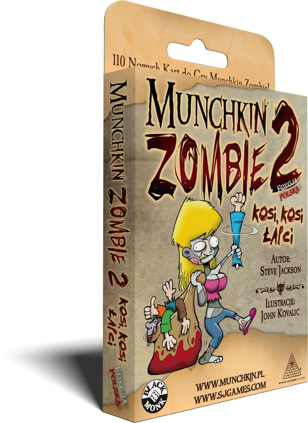 "Munchkin Zombie 2 - ""Kosi, Kosi, Łapci"""
