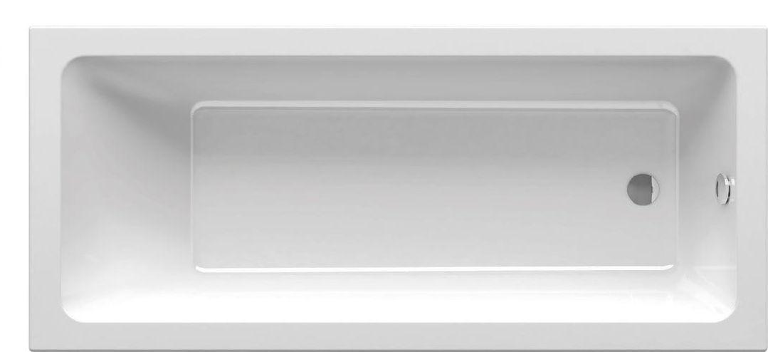 Ravak wanna prostokątna 10  170x75 biała CA71000000