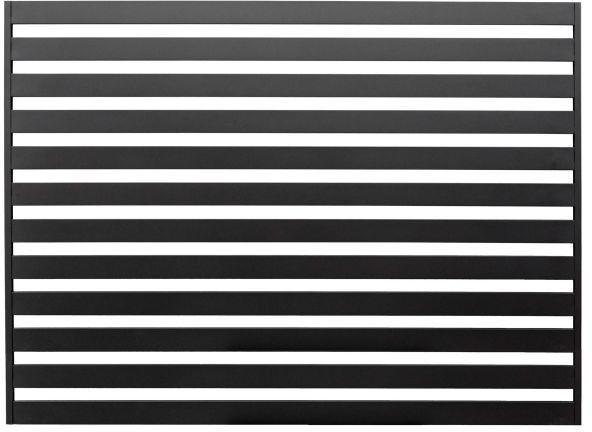 Przęsło Polbram Steel Group Lara 2 145 x 200 cm czarne