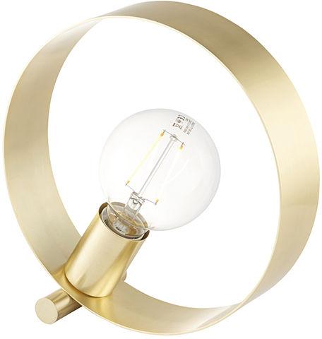 Lampa biurkowa Hoop 81920 Endon mosiężna oprawa w stylu nowoczesnym