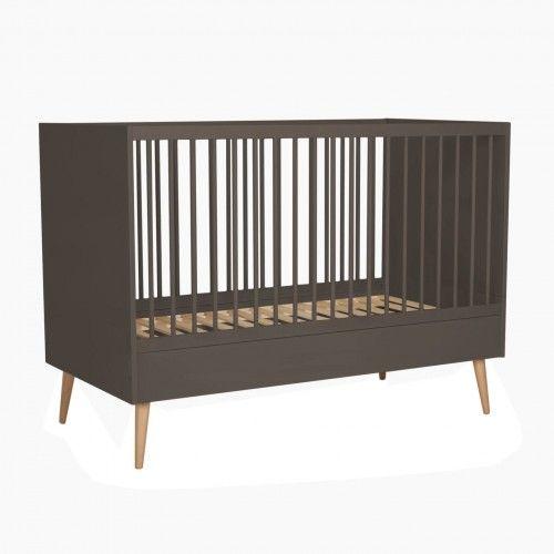 Łóżeczko niemowlęce Quax Cocoon Moss 140x70