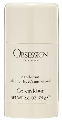 Calvin Klein Obsession For Men dezodorant 75 ml dla mężczyzn
