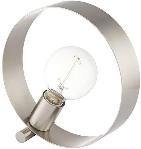 Lampa biurkowa Hoop 90453 Endon niklowana oprawa w stylu nowoczesnym