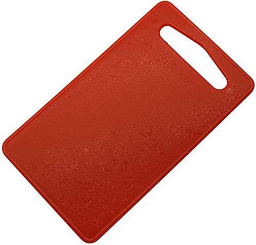 Fackelmann plastikowa deska do kanapek, czerwona, 24 x 14 cm