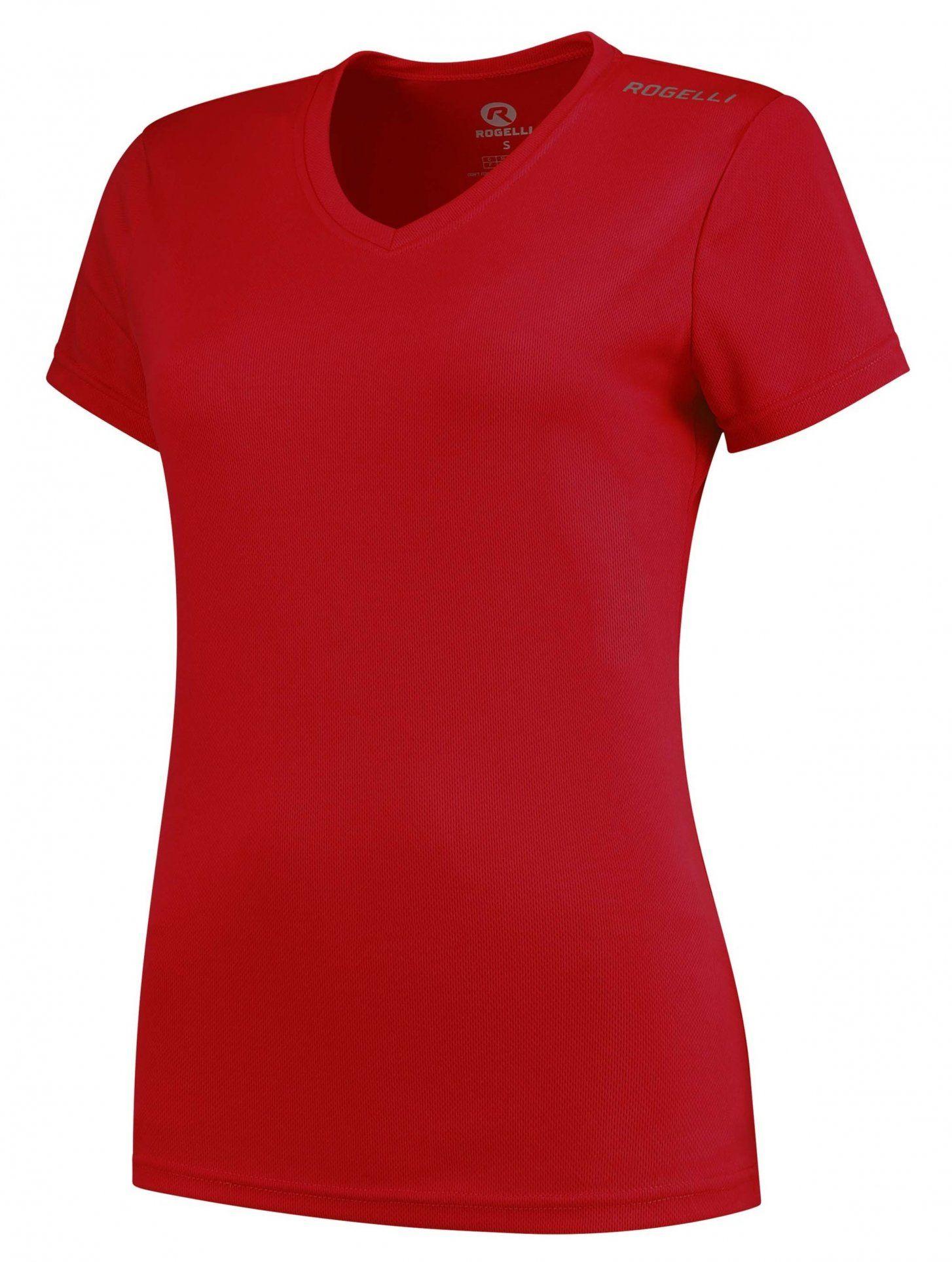 ROGELLI Koszulka sportowa damska Promo czerwona Rozmiar: M,801.221.XS