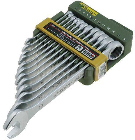 Zestaw 12 kluczy płaskooczkowych Proxxon 23820