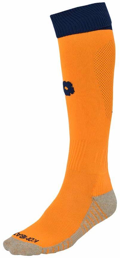 Kappa Combat Spark Pro X1 skarpety chłopięce, pomarańczowe/niebieskie, 35/38