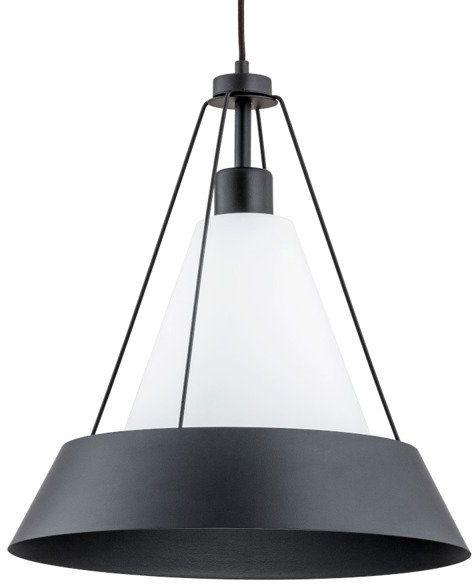 Lampa sufitowa WASA I czarny śr. 39cm