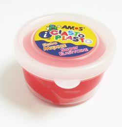 Ciastolina AMOS 30g, czerwona
