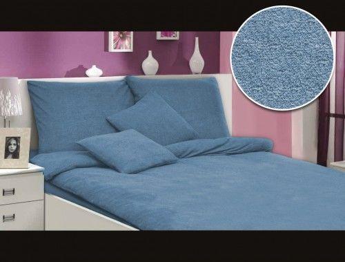 Darymex Pościel frotte niebieski 009 160x200