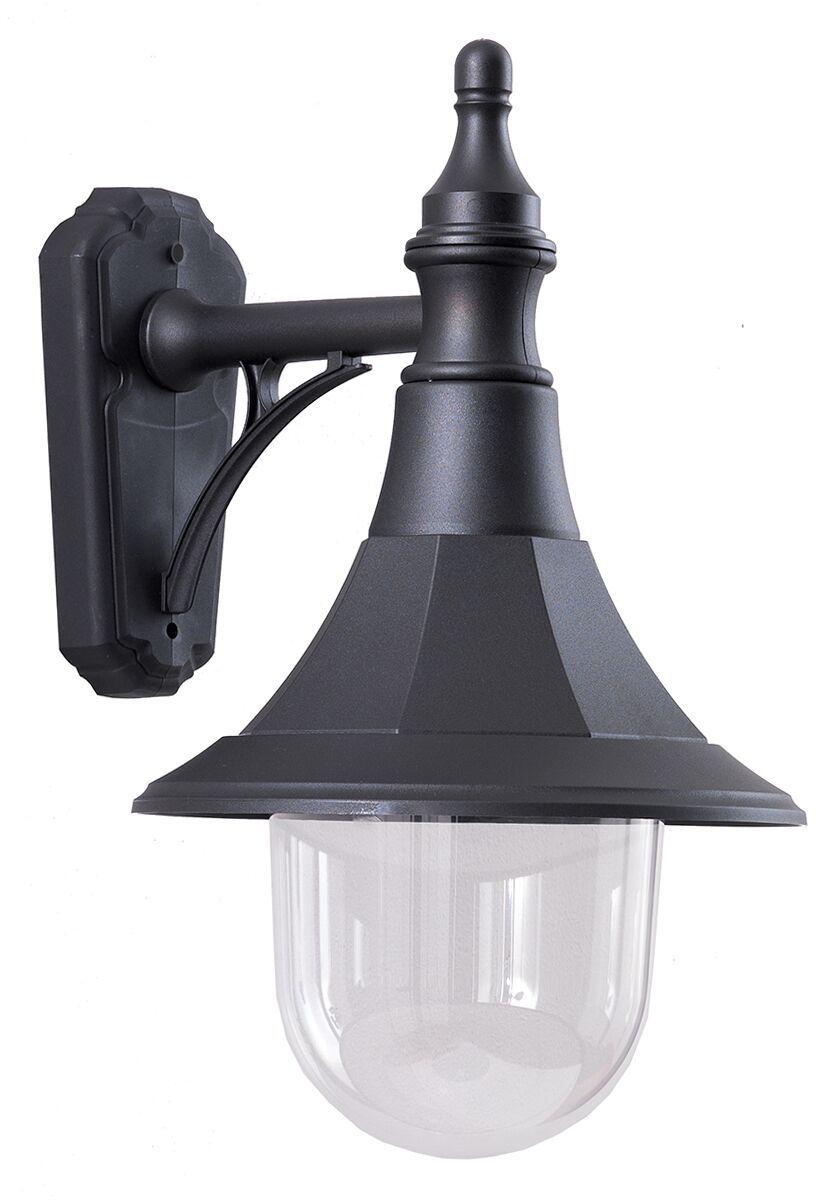 Kinkiet zewnętrzny Shannon DOWN Elstead Lighting dekoracyjna oprawa w kolorze czarnym