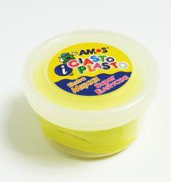Ciastolina AMOS 30g, żółta