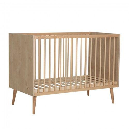 Łóżeczko niemowlęce Quax Cocoon Naturalny dąb 120x60