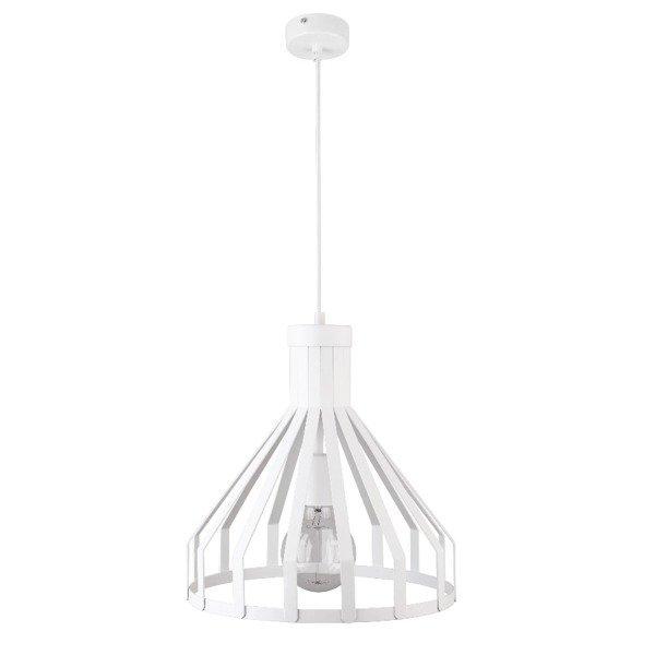 Lampa wisząca KOLA biała z drutu 33cm