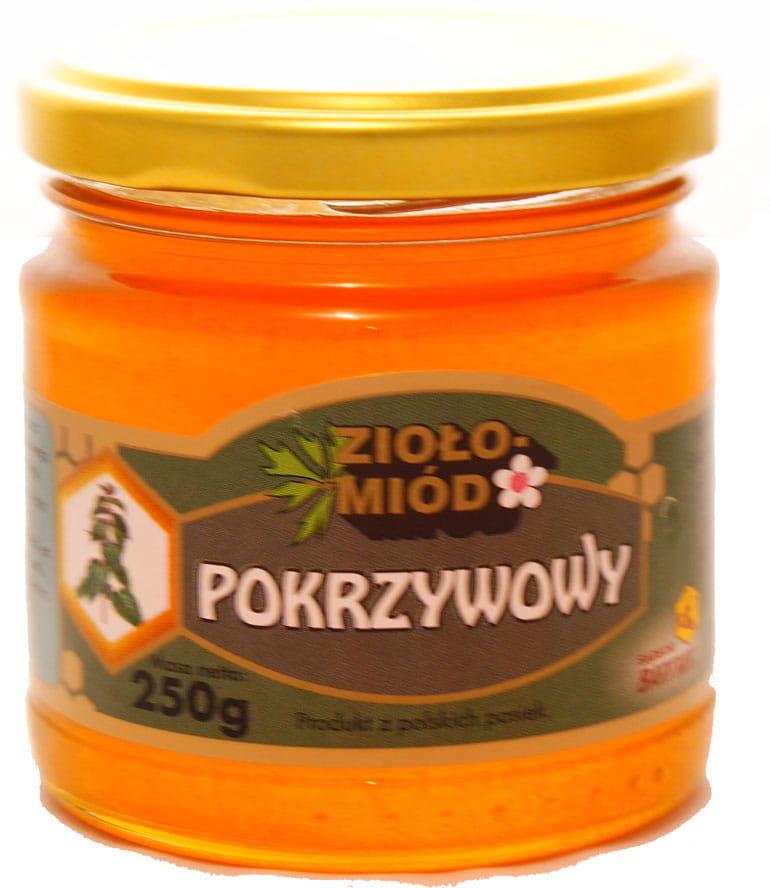 Ziołomiód pokrzywowy - Bartnik - 250g