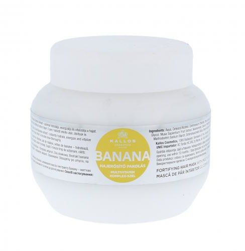 Kallos Cosmetics Banana maska do włosów 275 ml dla kobiet