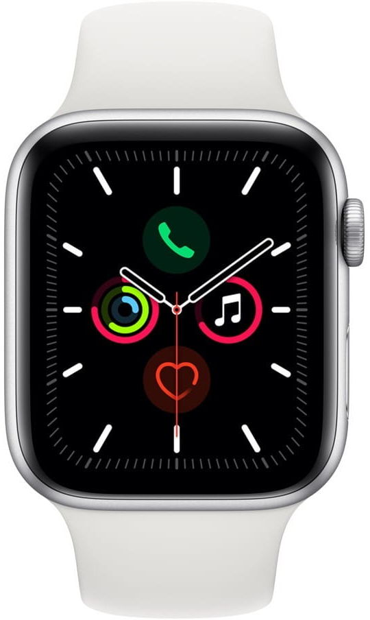 Apple Watch 5 Koperta 40mm Bialy MWX42WB/A