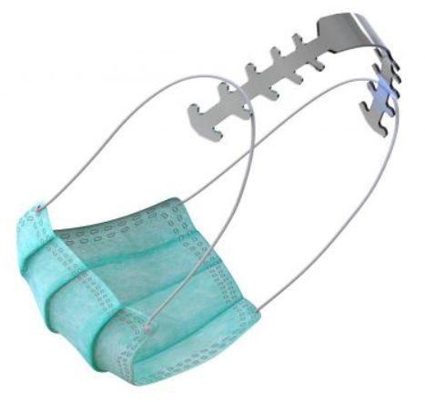 Holder do maseczek ochronnych - Ulga dla Twoich uszu i głowy