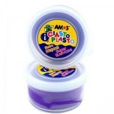 Ciastolina AMOS 30g, fioletowa