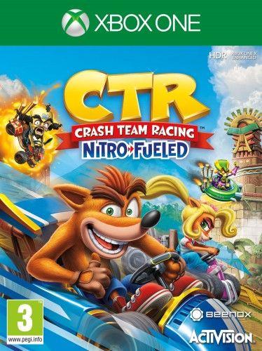 Crash Team Racing Nitro Fueled XOne Używana