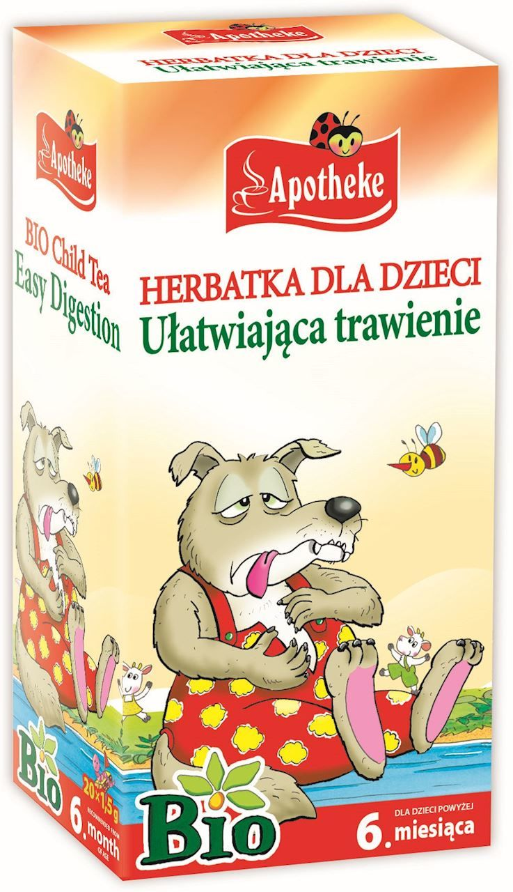 Herbata dla Dzieci na Trawienie BIO 30g - Apotheke