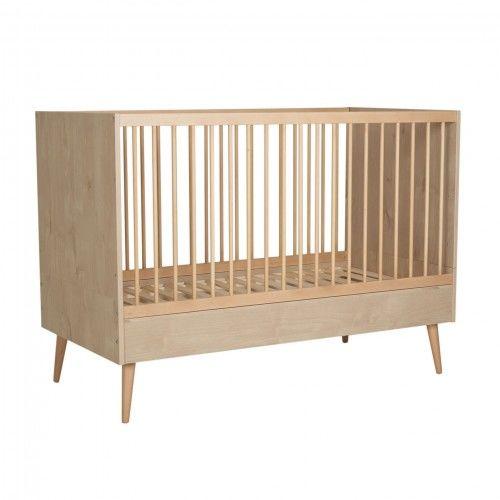 Łóżeczko niemowlęce Quax Cocoon Naturalny dąb 140x70