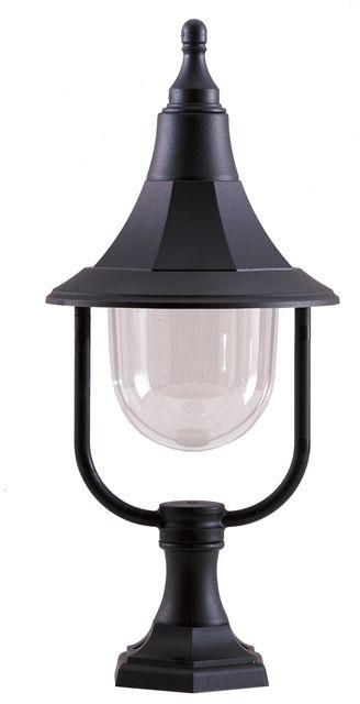 Lampa stojąca zewnętrzna Shannon PED Elstead Lighitng dekoracyjna oprawa w kolorze czarnym