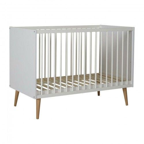 Łóżeczko niemowlęce Quax Cocoon Białe 120x60