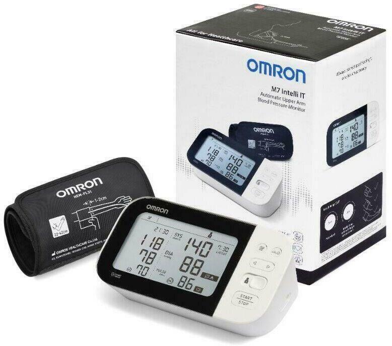 Ciśnieniomierz elektroniczny OMRON M7 IT / HEM7361T-EBK Ciśnieniomierz elektroniczny OMRON M7 IT / HEM7361T-EBK